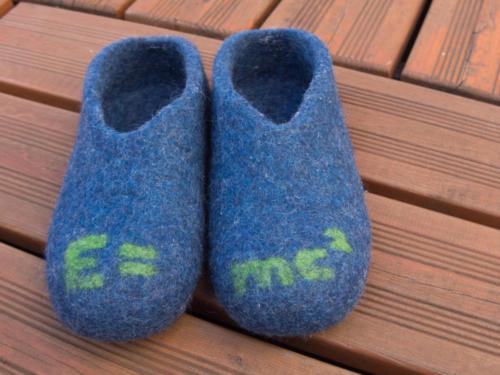 Pantoffel für MathematikerIn